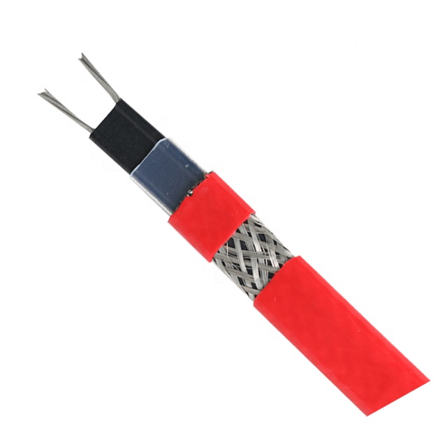 waterproof electric self-regulating heat tracing cable roof defrost heating cable