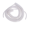7 core electrical spring spiral cable spiral wire coiled cable 4x0.25mm 2x0.75mm2 24x0.12mm2